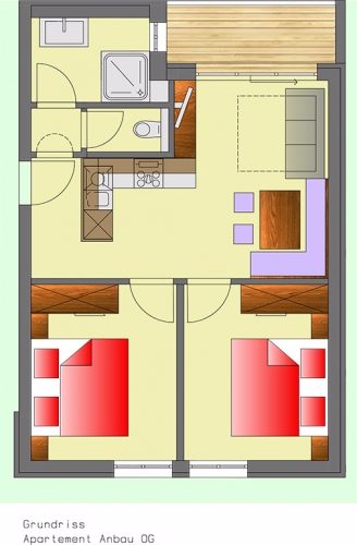 Layout Apartment 6