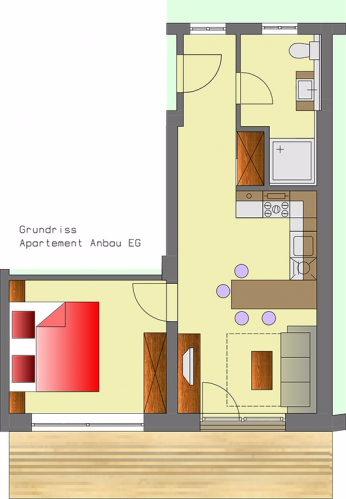Layout Apartment 7